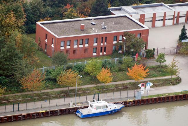 Het bureau van de Wasserschutzpolizei in Hannover. (Foto WSP Hannover)