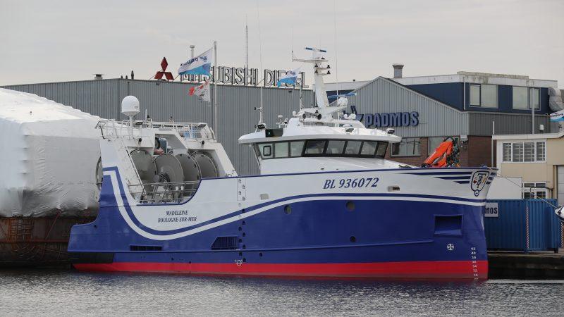 De BL-936072 klaar voor het zware werk in Het Kanaal. (Foto Bram Pronk)