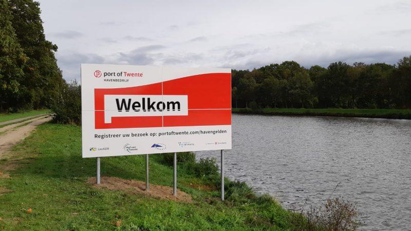 PVV wil verdubbeling havengeld Port of Twente van tafel. (Foto Port of Twente)