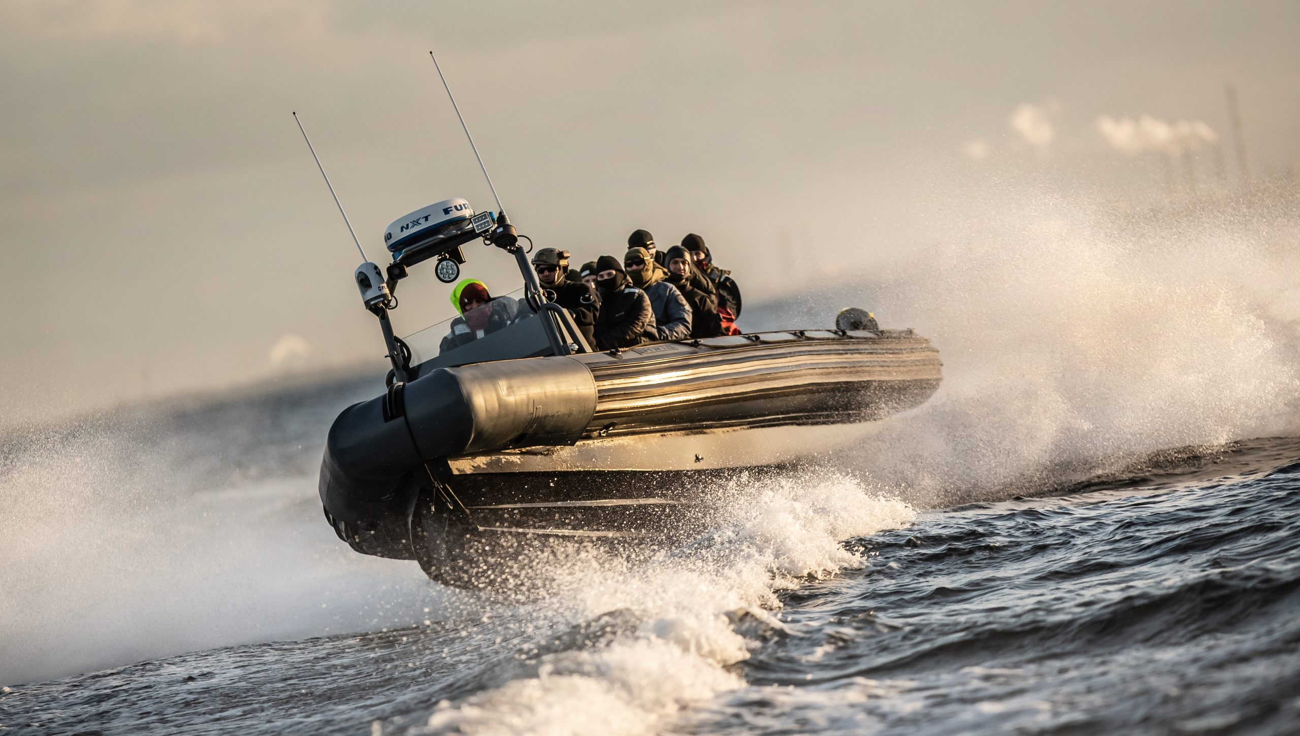 Nederlandse botenbouwers bruut opzij gezet bij politietender. (Foto Euro Offshore)