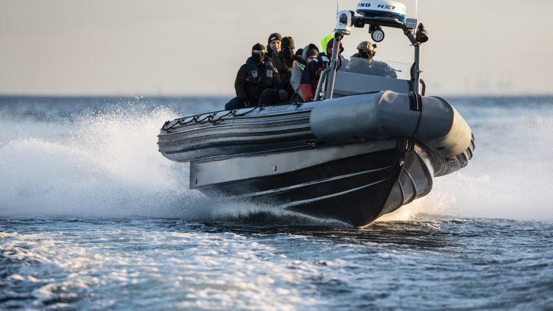 Een 10 meter RHIB van Euro Offshore. (Foto Euro Offshore)