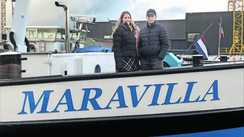 Gerlinda en Arie Hovestadt: 'Soms wordt je leven geleid. Het kwam zo wonderlijk bij elkaar. Maravilla betekent verwondering.' (Foto Hannie Visser-Kieboom)
