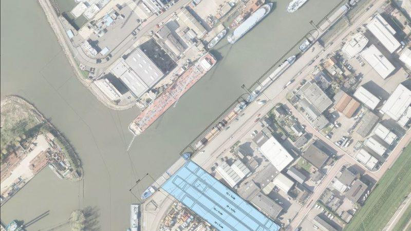 Zo zou de nieuwe insteekhaven van Werkendam eruit kunnen gaan zien