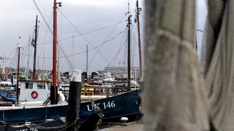 Urk heeft een nieuwe scheepswerf: Coöperatieve Werft Shipbuilding U.A., gevestigd aan de Vliestroom op Urk.(Foto haven Urk, ter illustratie, ANP)