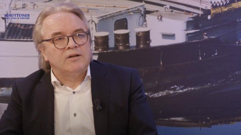Kees de Vries in de uitzending van Studio Schuttevaer. (Beeld uit video)