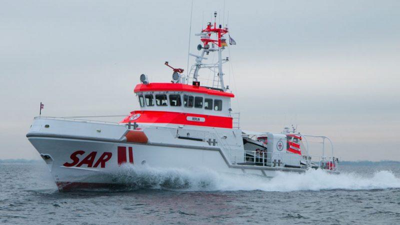 Een reddingsschip van de DGzRS. (Foto DGzRS)