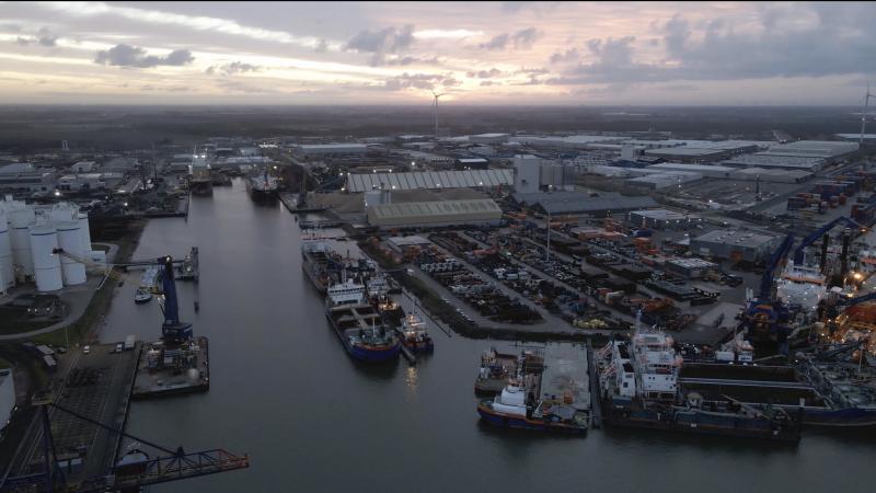 Port of Moerdijk wist goede cijfers te scoren in 2020, ondanks de coronacrisis. (Foto Port of Moerdijk)