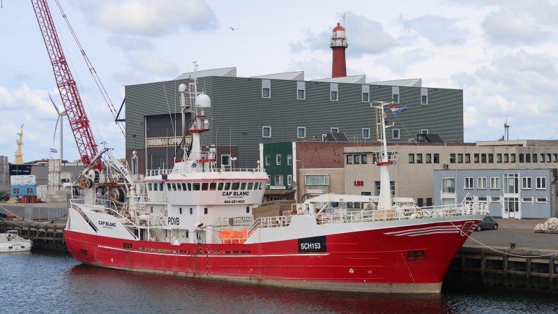 De SCH-153 Cap Blanc voert sinds kort makreel aan in Noorwegen. (Foto W.M. den Heijer)