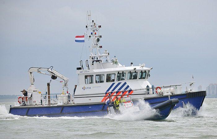 De boot van de waterpolitie in Vlissingen. (Foto Rescue Vlissingen)