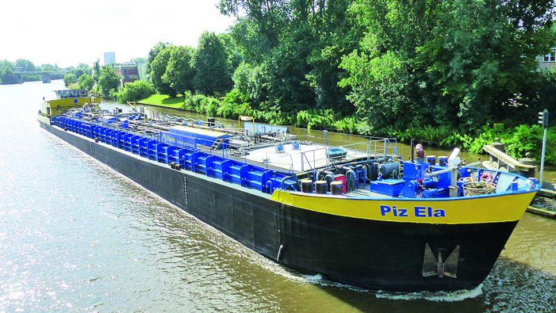 De Piz Ela (070.01829), verhuisde naar Dordrecht. (Foto J. Schirsching)