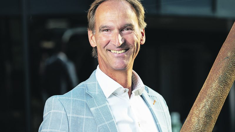 Martin Visser, directeur van EOC Scheepsverzekeringen