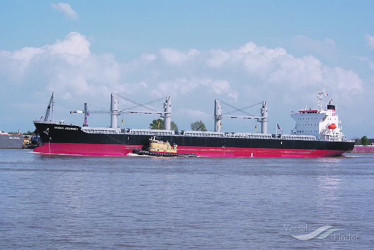 Het droge bulk schip Ocean Journey. Foto: VesselFinder