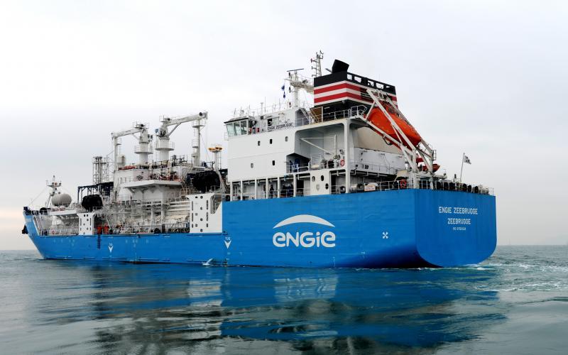 De Green Zeebrugge. (Foto Maritime Business World)