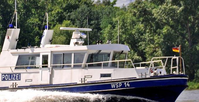 Patrouilleboot van de Wasserschutzpolizei (Foto politie Rheinland-Pfalz)