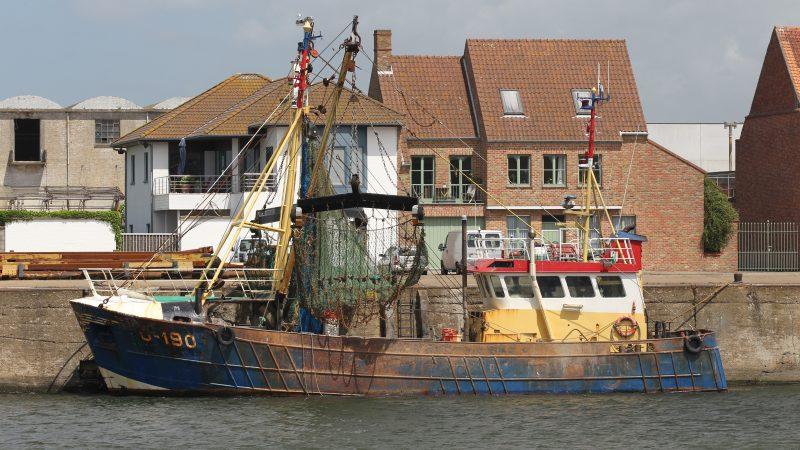 Belgische kustvissers zijn weer welkom in Engelse wateren. (Foto Bram Pronk)