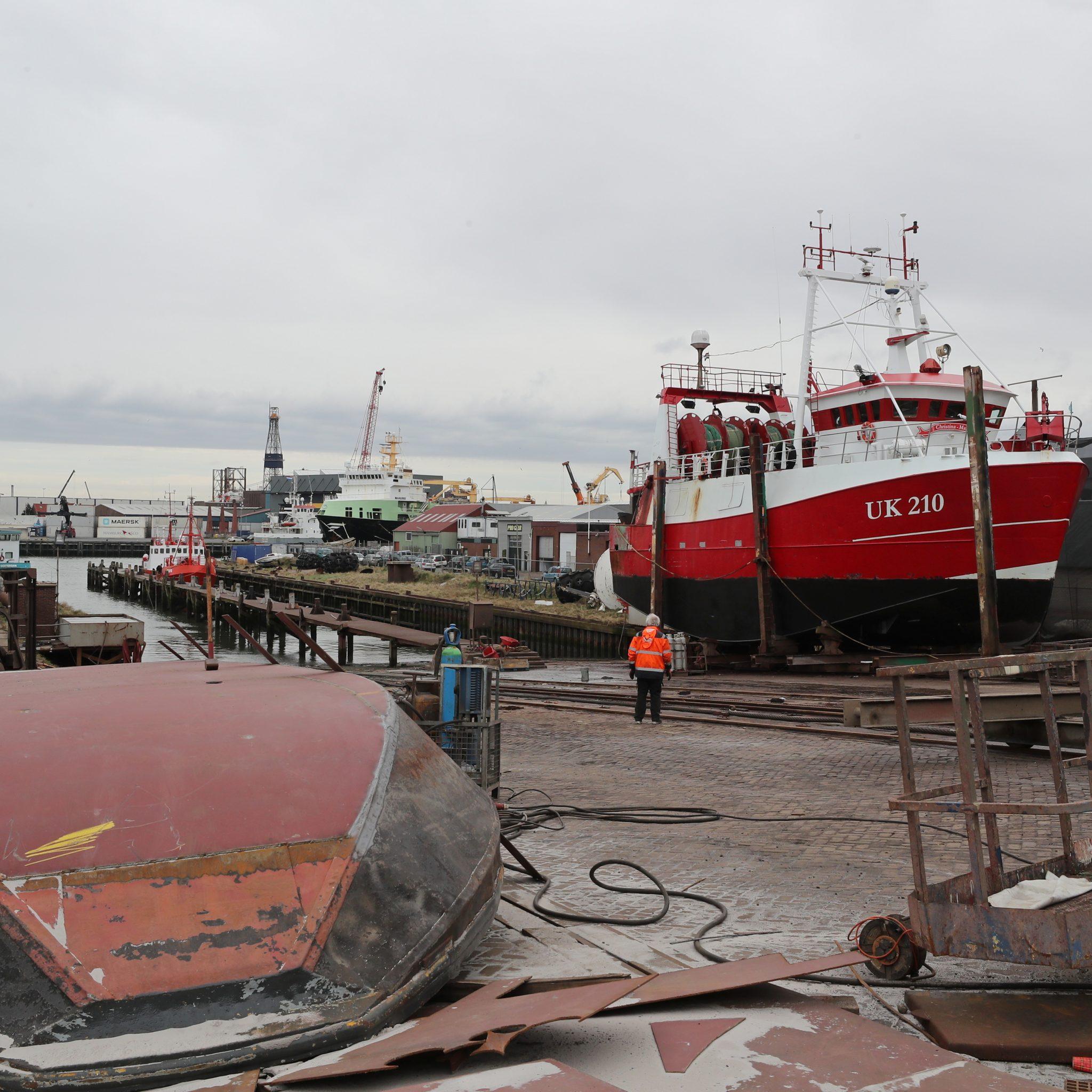 De UK-210 voor knippen en scheren in IJmuiden