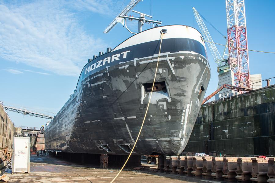 EDR Antwerp Shipyard durft zelfs voorzichtig te dromen van scheepsbouw in Antwerpen. (Foto EDR Antwerp)
