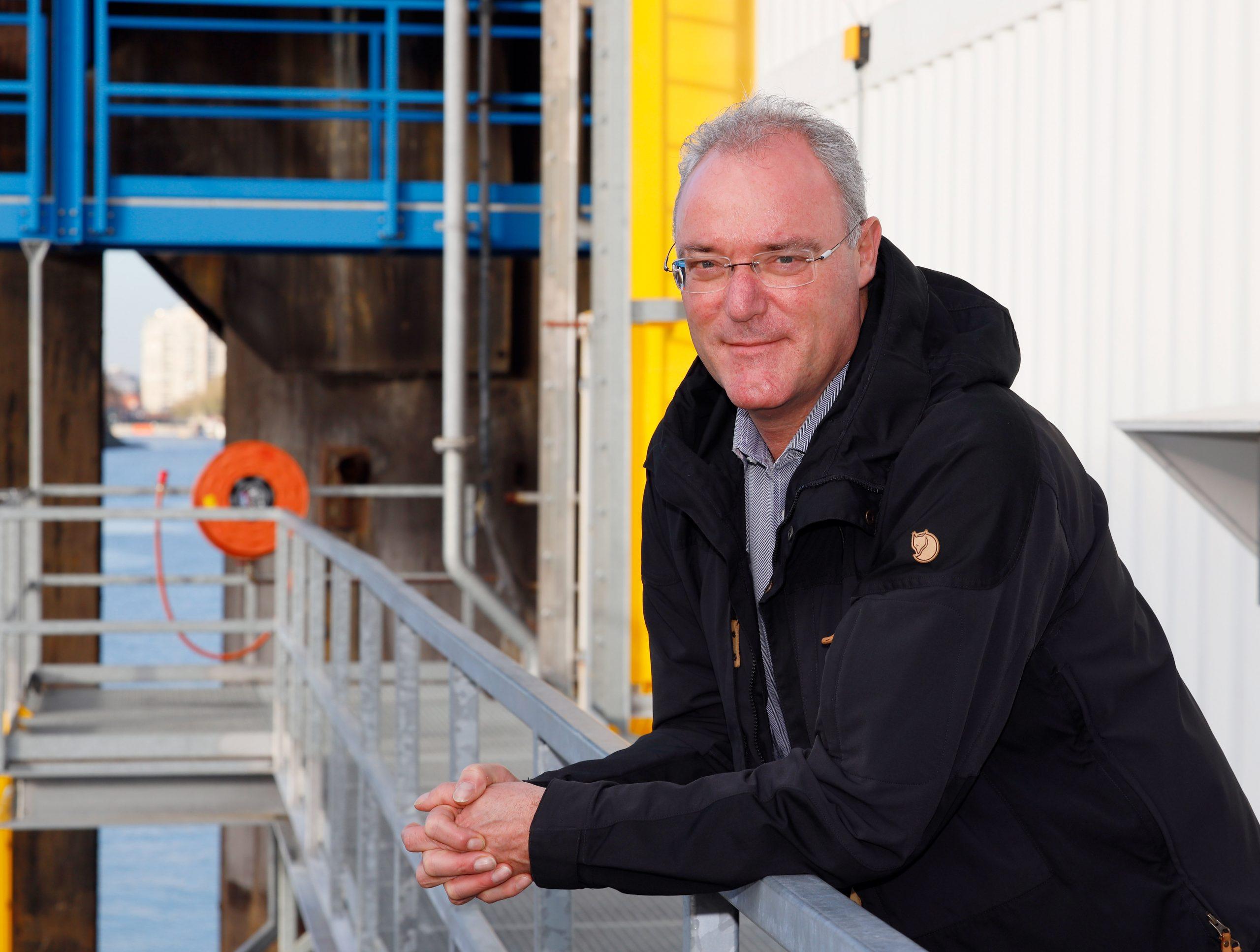 Directeur Riemert Moleman. (Foto STC-KNRM)