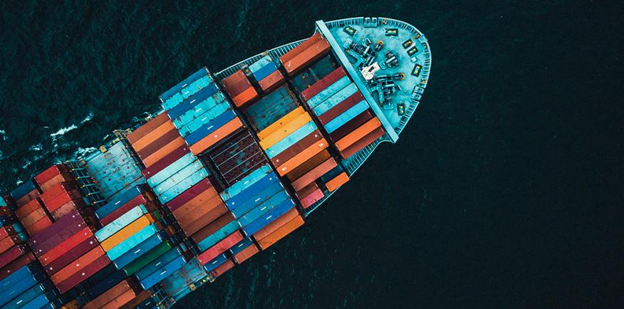 Containerrederij Maersk wil al in 2023 het eerste schip op methanol laten varen. (Foto Maersk)