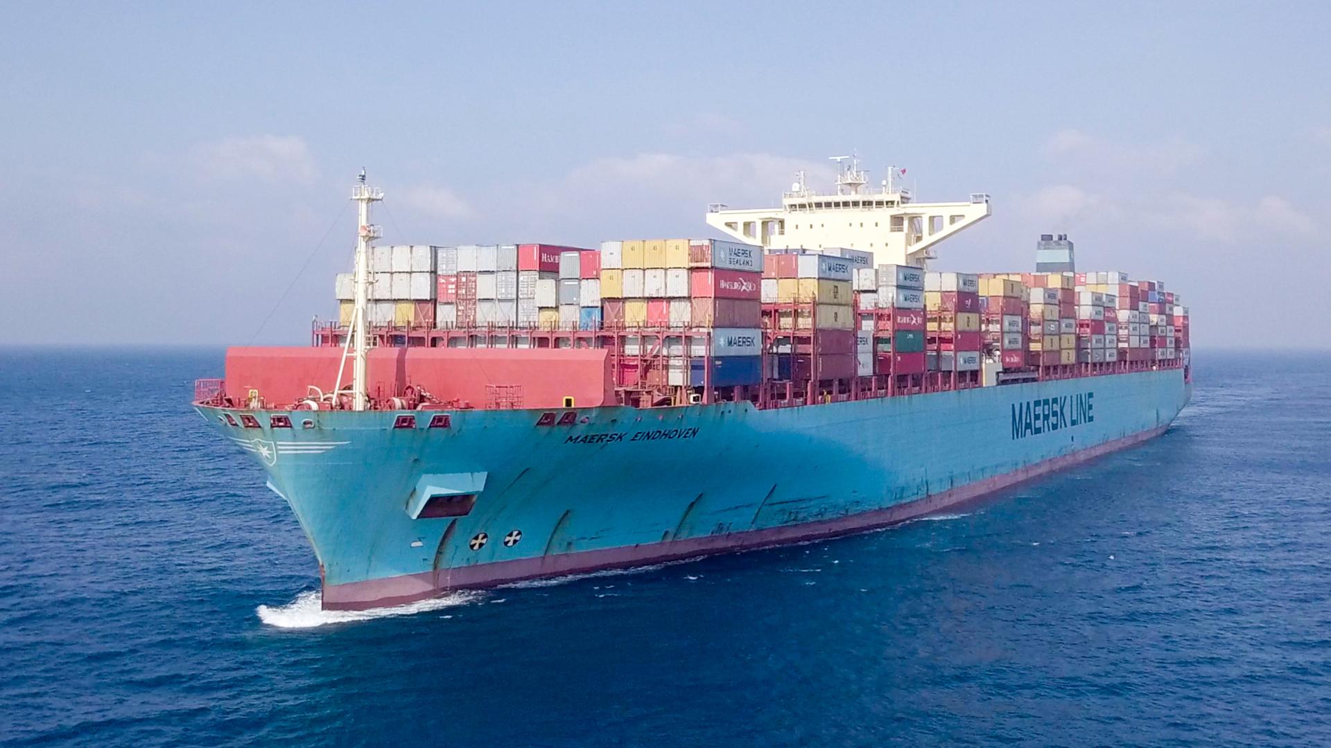 Opnieuw verliest Maersk containers. (Foto Shutterstock)