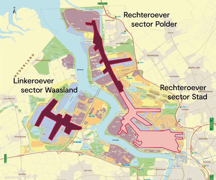 Sectoren VTS Antwerpen
