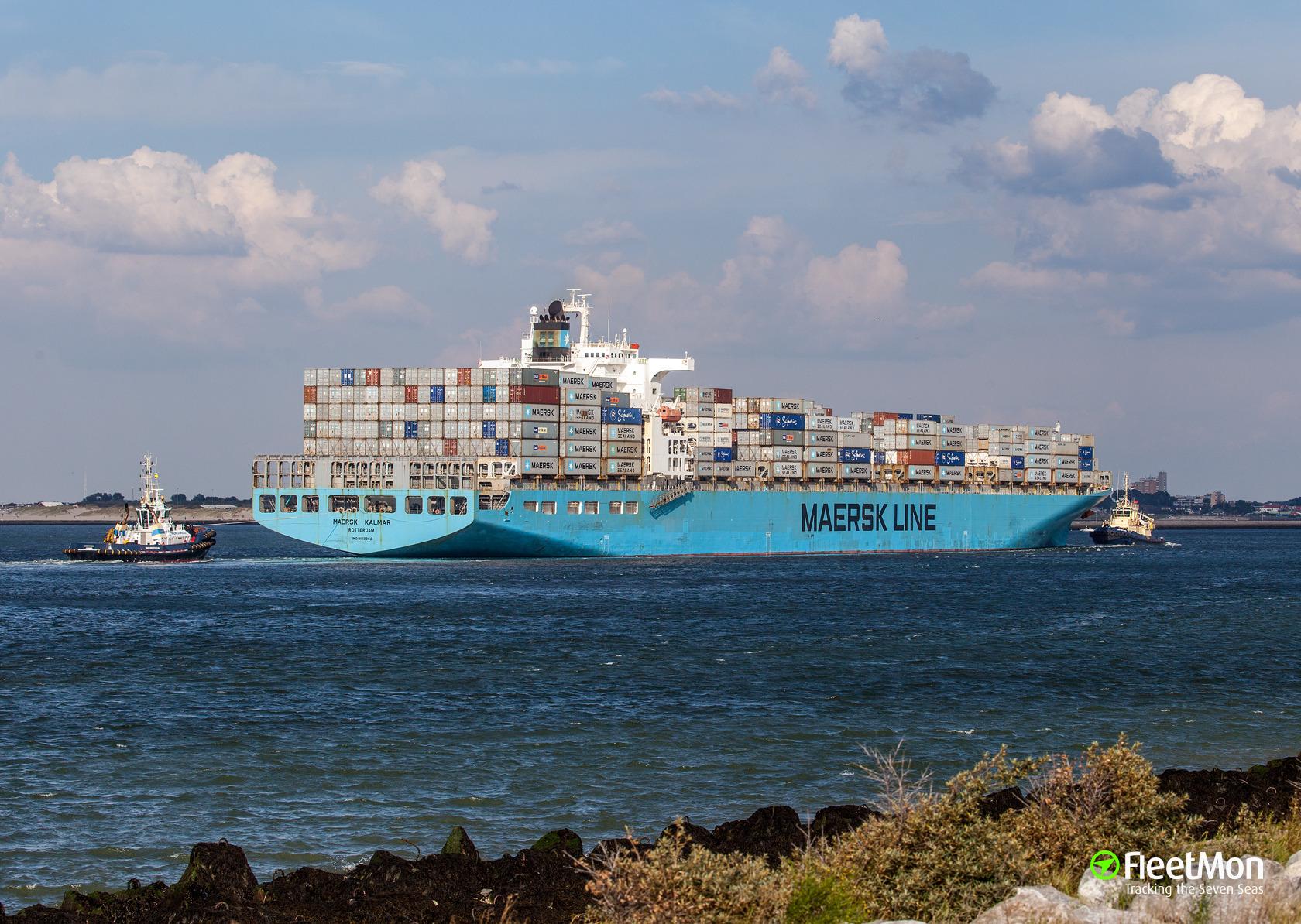 De Maersk Kalmar, een van de schepen die ooit werd overgenomen van P&O Nedlloyd. (Foto Maersk)