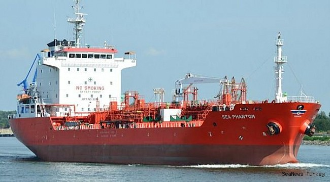 Het Griekse schip Sea Phantom werd onlangs aangevallen door piraten.