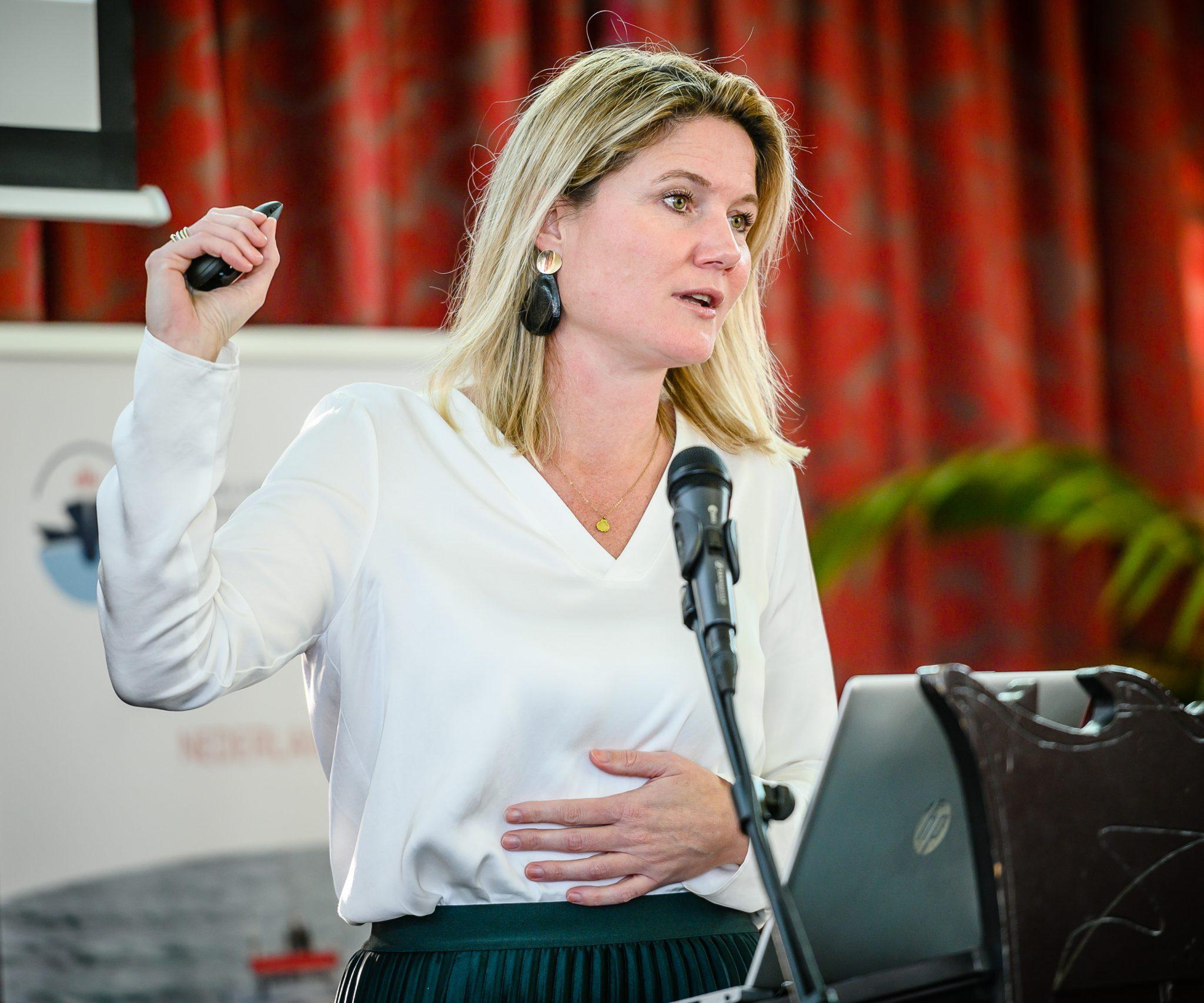 Annet Koster blikt terug op het jaar 2020. (Foto KVNR)