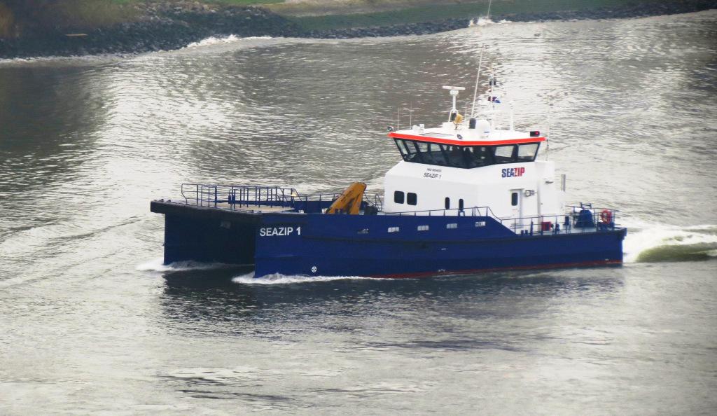 De Seazip 1 is nu in bezit van Damen. (Foto Bert Bot)