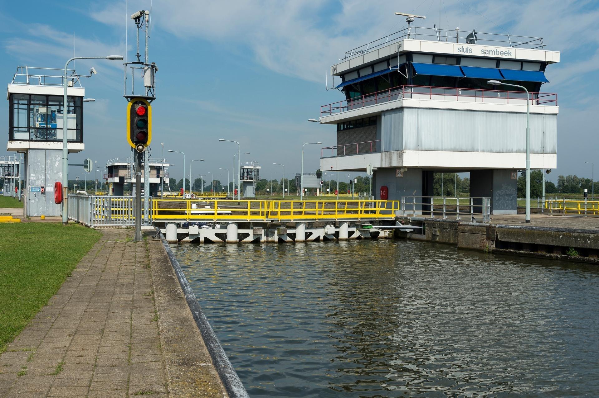 Sluis Sambeek (Foto Rijkswaterstaat)