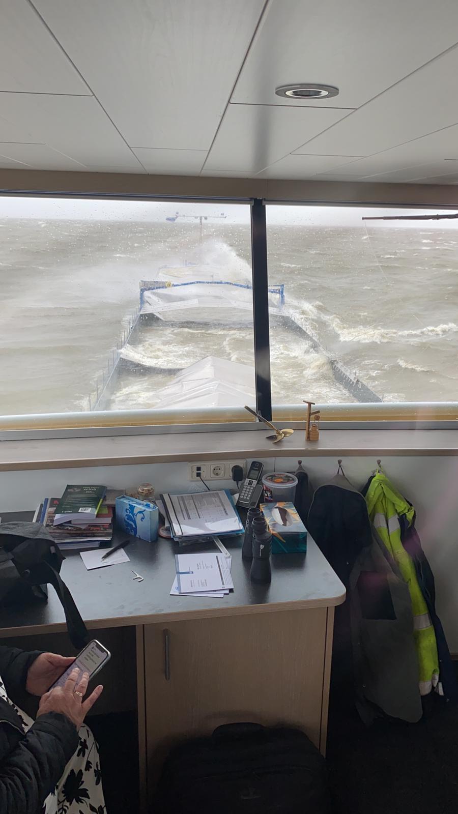 Het IJsselmeer heeft de Rehoboth verzwolgen.