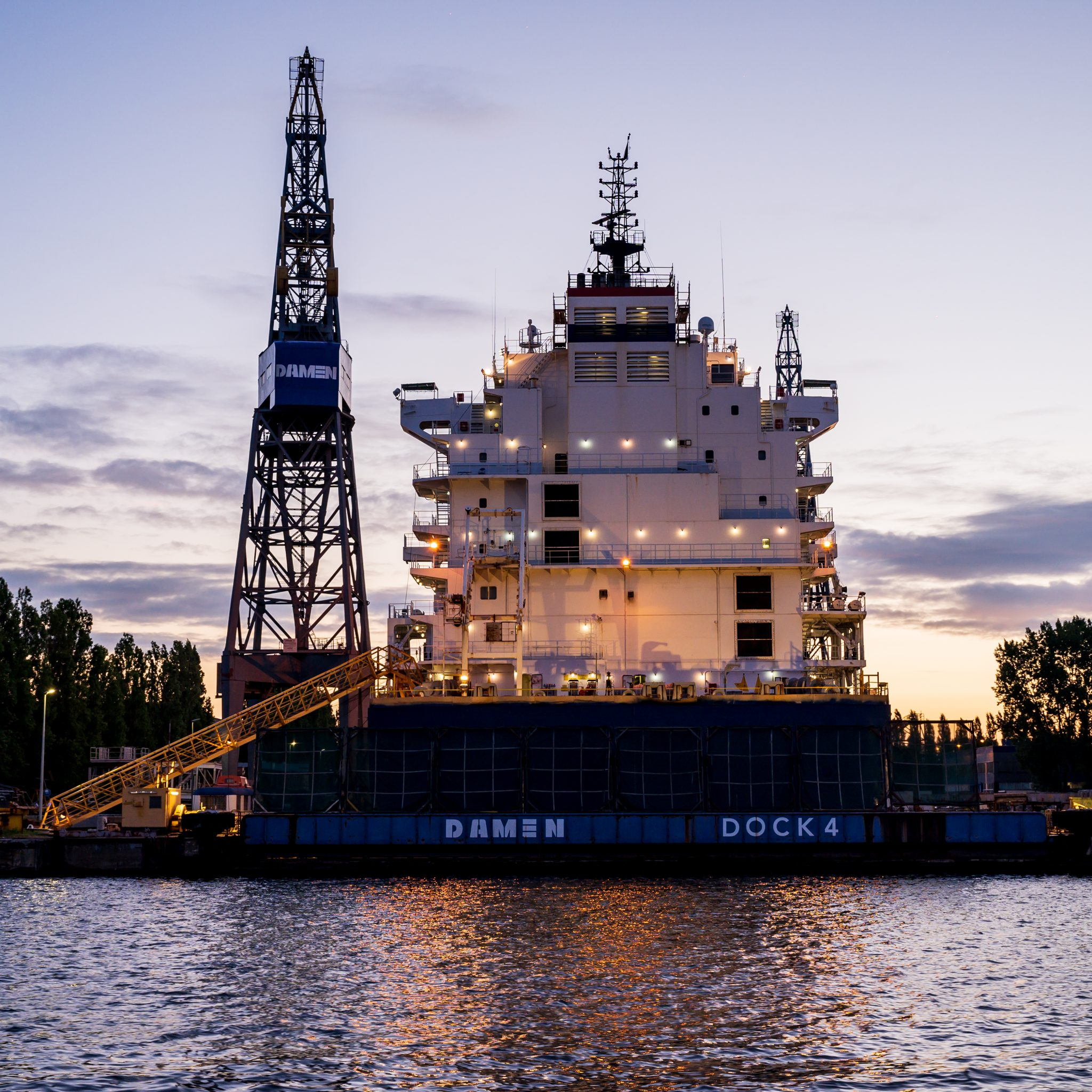 Damen Shipyards Group start nieuwe financiële service (Foto: ANP / Astrid Huis)
