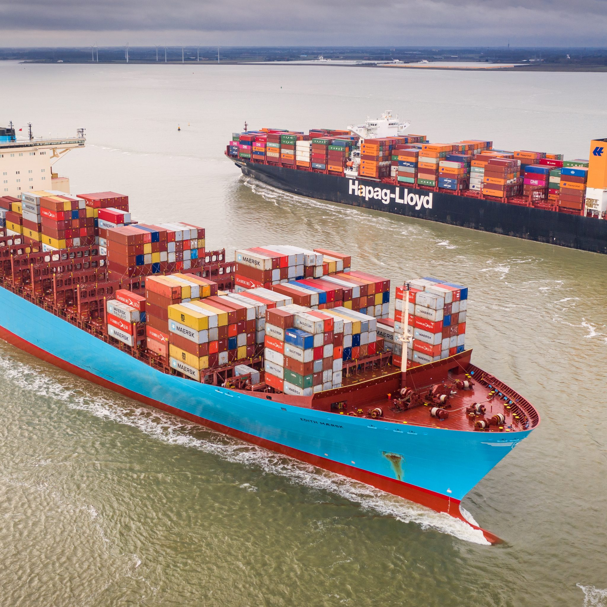 De ladingmarkt voor de zeevaart ontwikkelt zich de komende jaren positief. (Foto: Arnoud Lievense / ANP)
