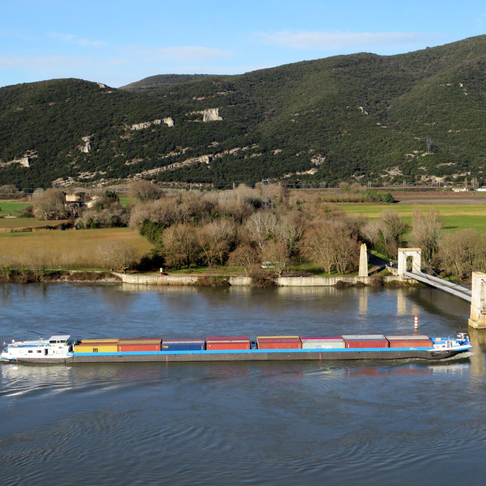 In het Rhône-Saônebekken daalde het vervoer over water vorig jaar met twintig procent. Dat kwam niet alleen door corona, maar ook door een langdurige stremming van sluis Sablons.