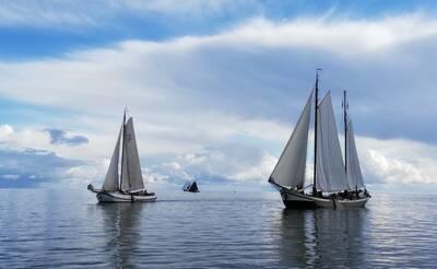 Nederland moet de bruine vloot aanwijzen als werelderfgoed. Foto: BBZ