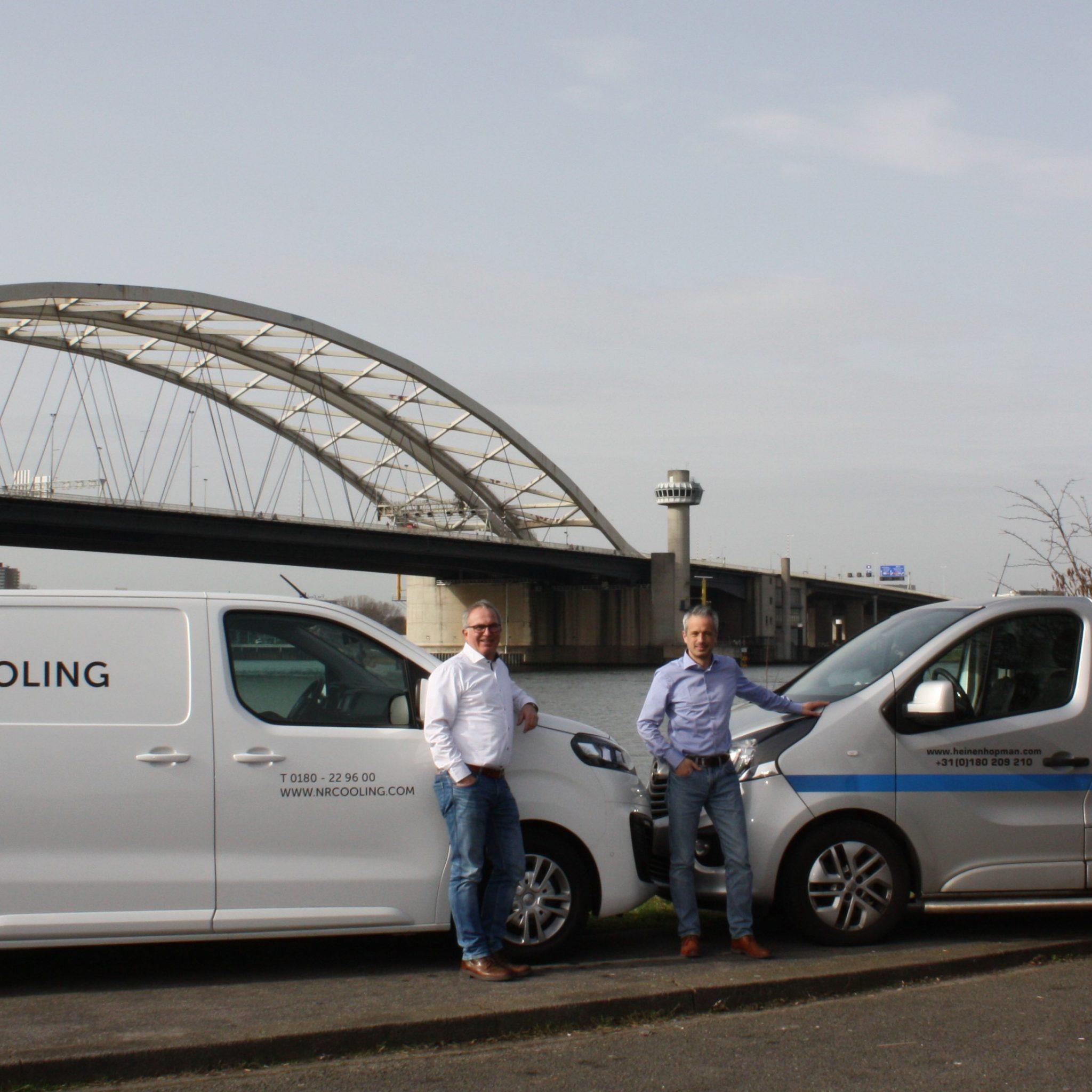 Johan Vermoen en Sander Stadelman. (Foto Heinen & Hopman)