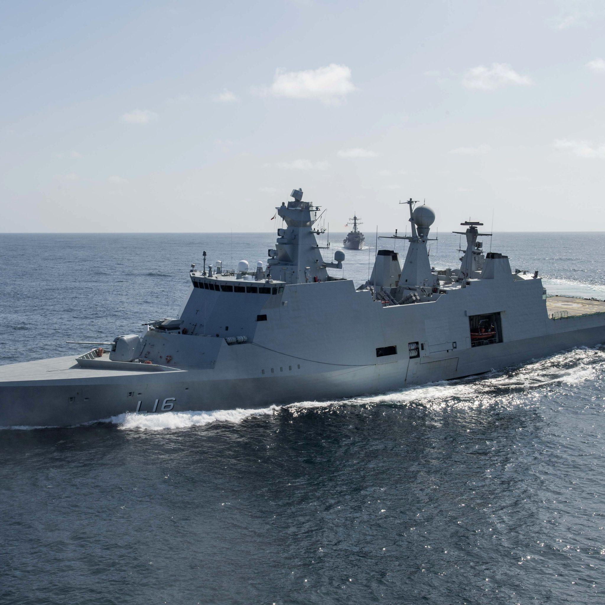 Denemarken is het eerste Europese land dat actie neemt tegen piraterij in de Golf van Guinee. (Foto Wikipedia)