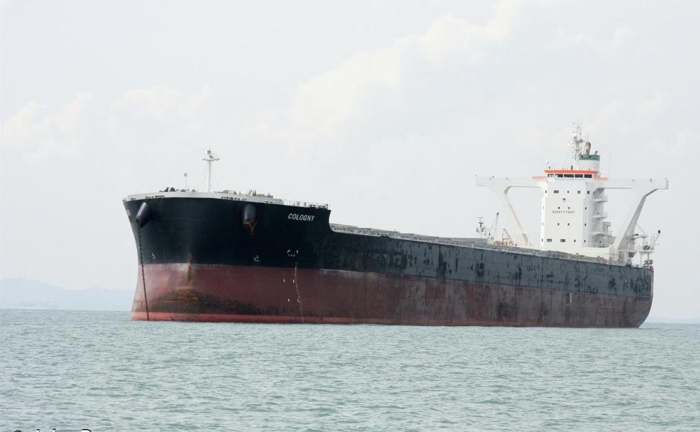 De Lemos Group keert terug naar de droge-ladingmarkt met de aankoop van de capesizer Cologny (180.600 dwt, 2011).