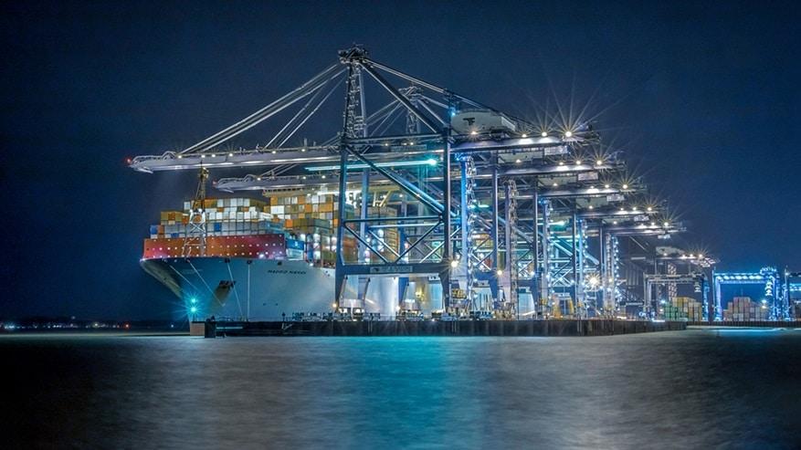 Onder andere Maersk is bezig met de bouw van emissie-vrije schepen (Foto: Maersk)