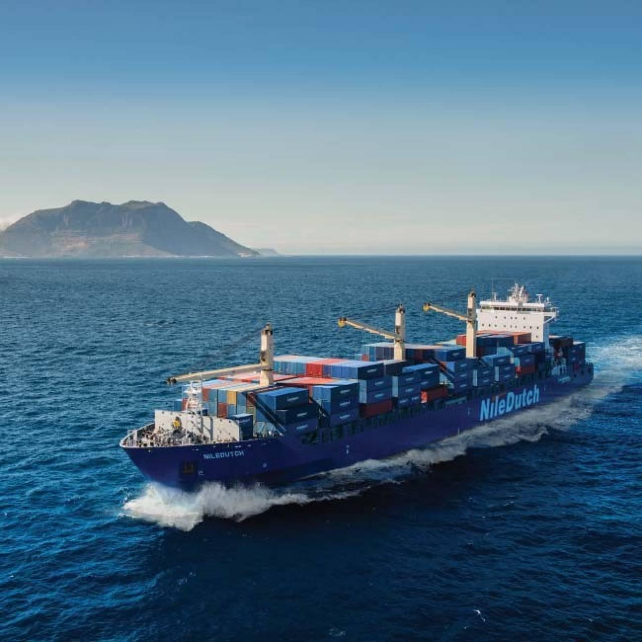 De Nederlandse rederij NileDutch is aanbieder van containerdiensten van en naar West-Afrika (Foto: Hapag-Lloyd)