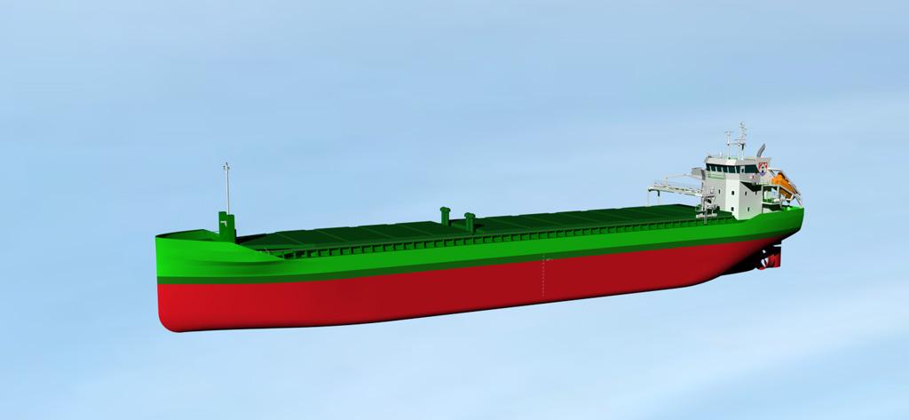 Het schip waar Piet Brouwer Elektrotechniek de volledige installatie van zal doen (Foto: Piet Brouwer Elektrotechniek)