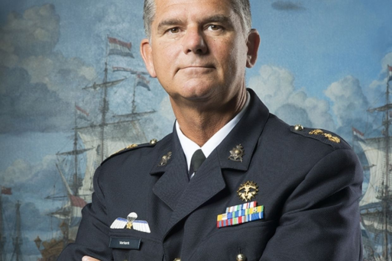 Rob Verkerk, voorzitter Nederland Maritiem Land. Foto NML