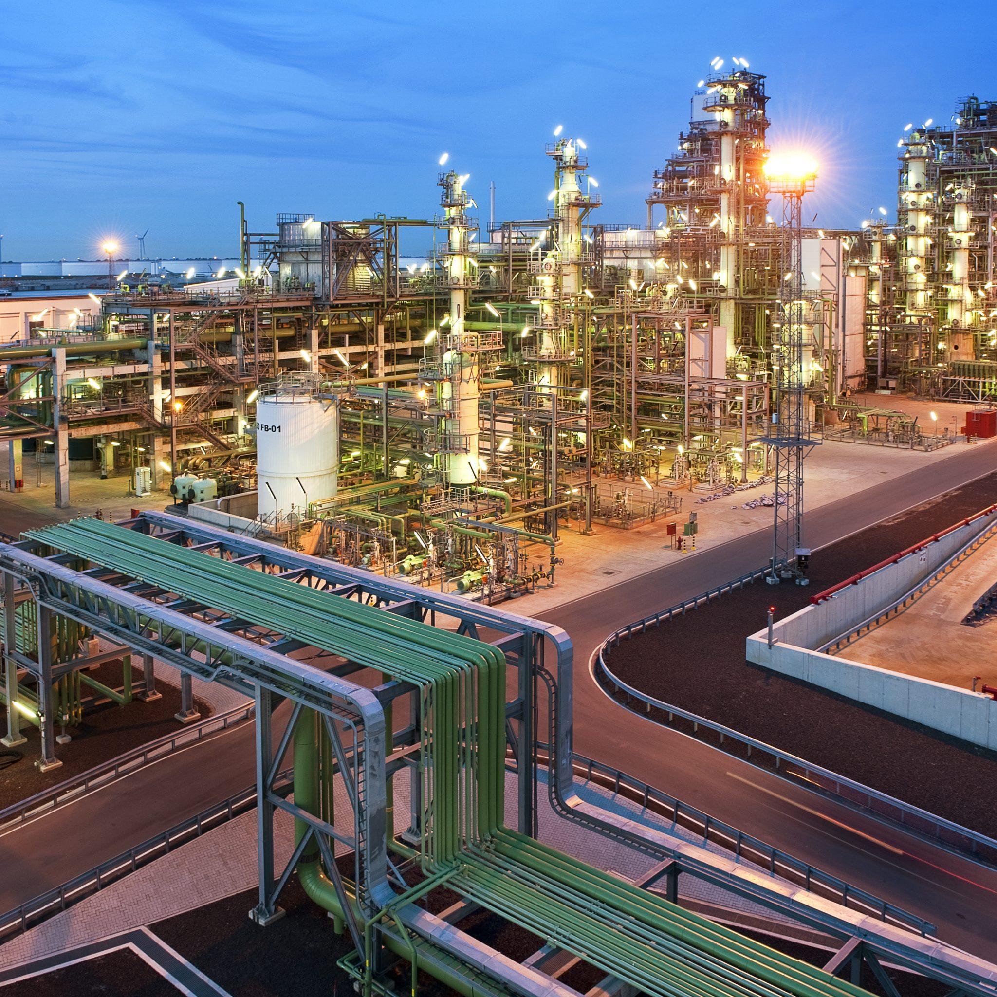 De raffinaderij van Neste op de Maasvlakte. (Foto Neste)