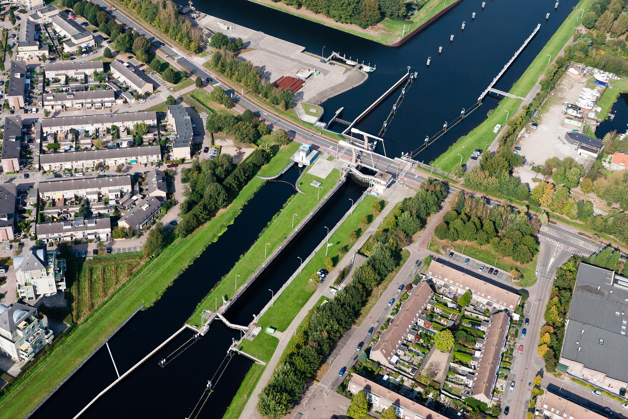 Het ICT-systeem in Sluis I bij Oosterhout zal als eerst worden vernieuwd (Foto Joop van Houdt / Rijkswaterstaat)