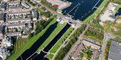 Sluis I bij Oosterhout wordt samen met Sluis II als allereerste aangepakt (Foto Joop van Houdt / Rijkswaterstaat)
