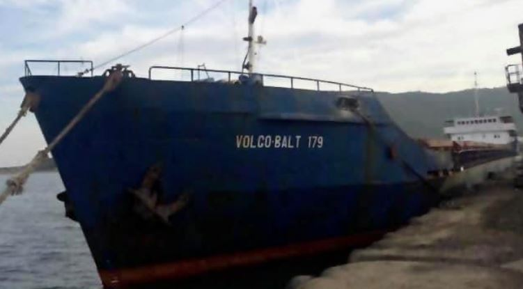 De Volgo Balt 179 was op weg naar Constanta toen het zonk op de Zwarte Zee (Foto: Ukraine Maritime Administration)