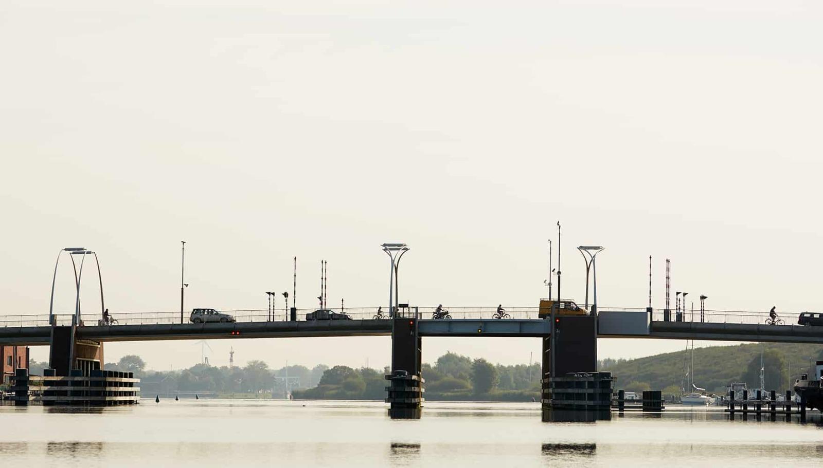 Haarlem gaat alle bruggen over het Spaarne automatiseren. (Foto Rijkswaterstaat)
