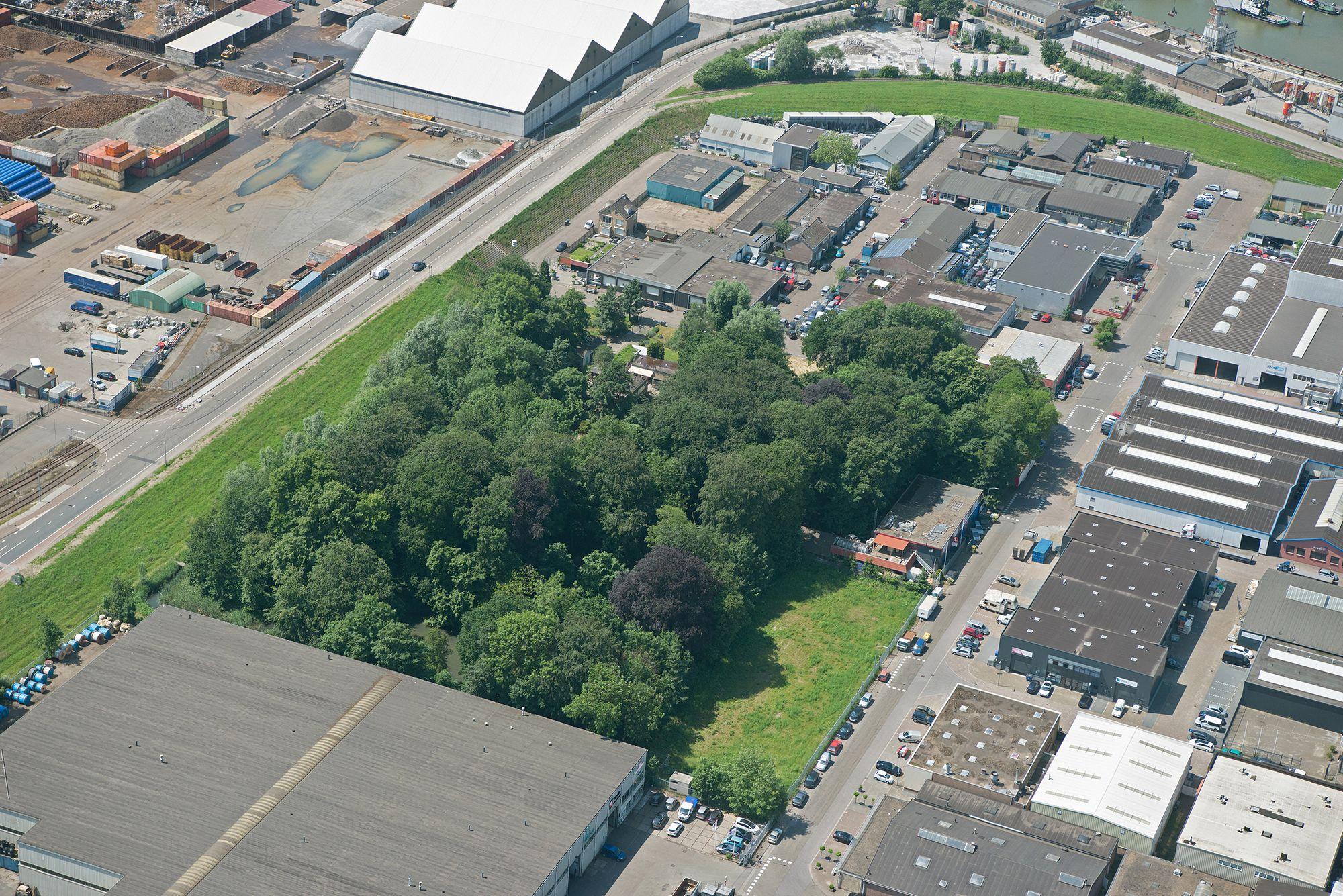 Havenbedrijf Rotterdam is nu de beheerder van de openbare ruimte van dit gebied (Foto Port of Rotterdam)