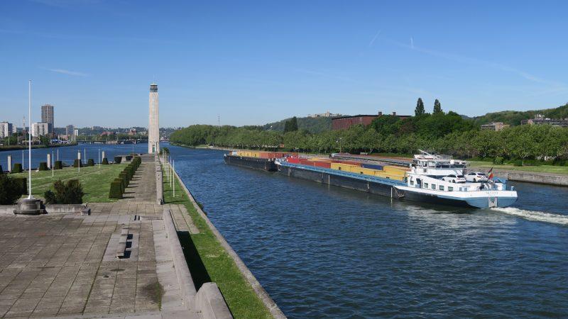 Containeroverslag in Luik gestegen met 20%. (Foto NT)