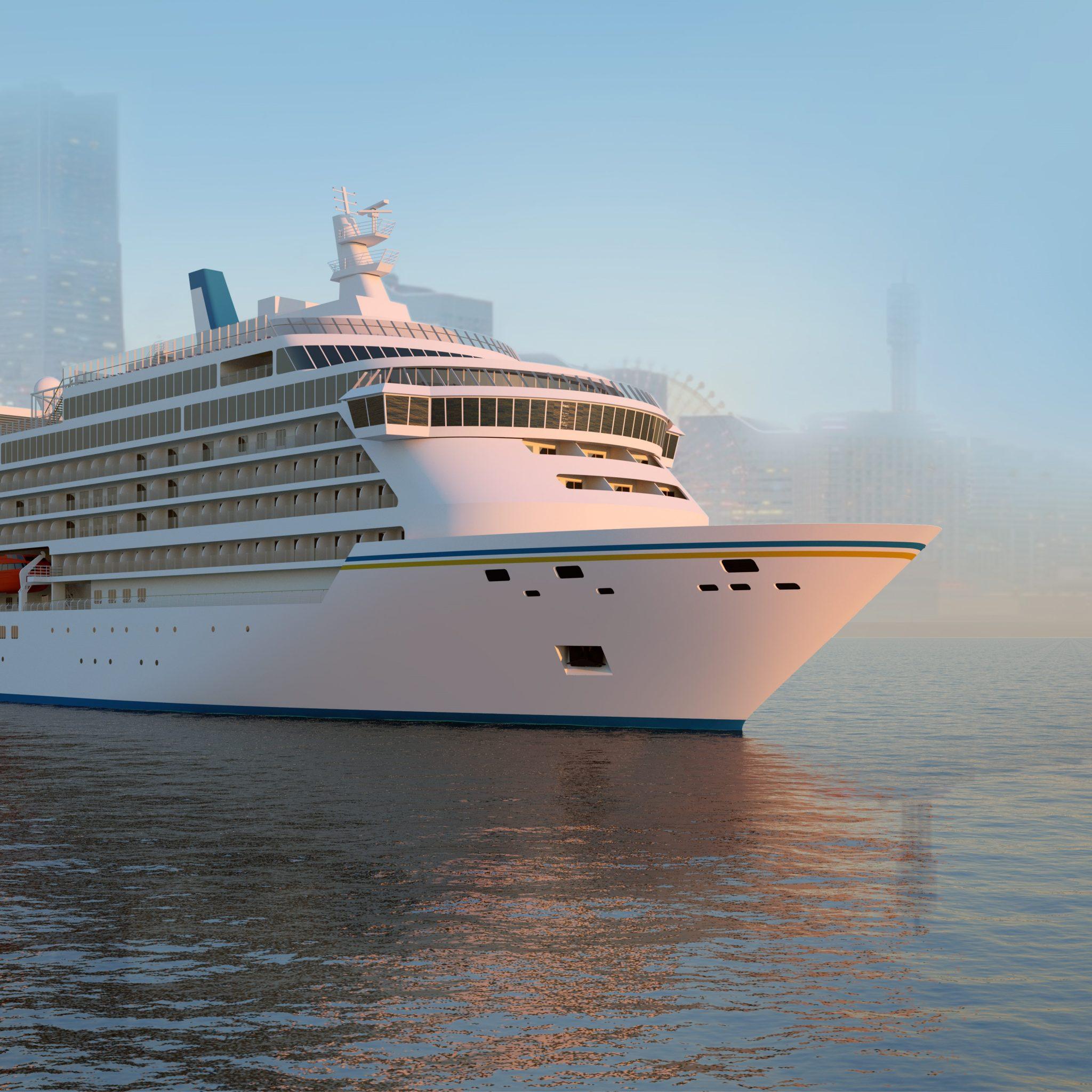 Het nieuwe cruiseschip zoals dat gebouwd gaat worden door Meyer Werft (Bron Meyer Werft)
